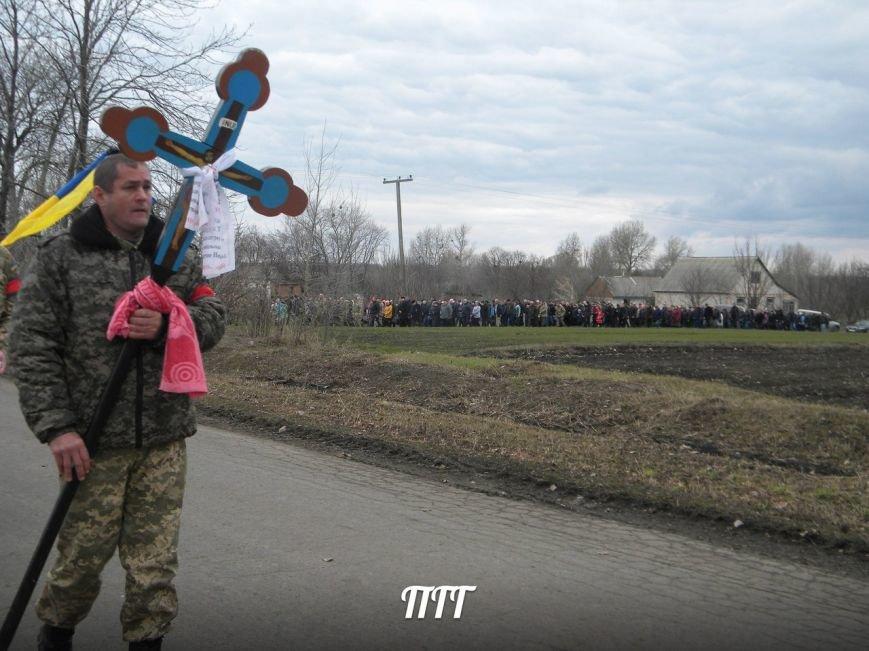 На Полтавщині провели в останню путь бійця АТО (ФОТО) (фото) - фото 4