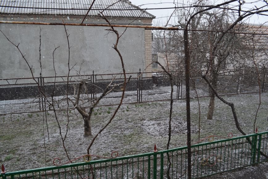 Кривой Рог накрыло мартовским снегом (ФОТО), фото-3