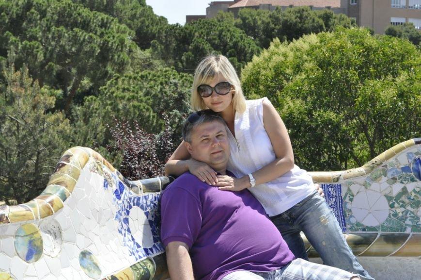 Олег Чистяков с женой