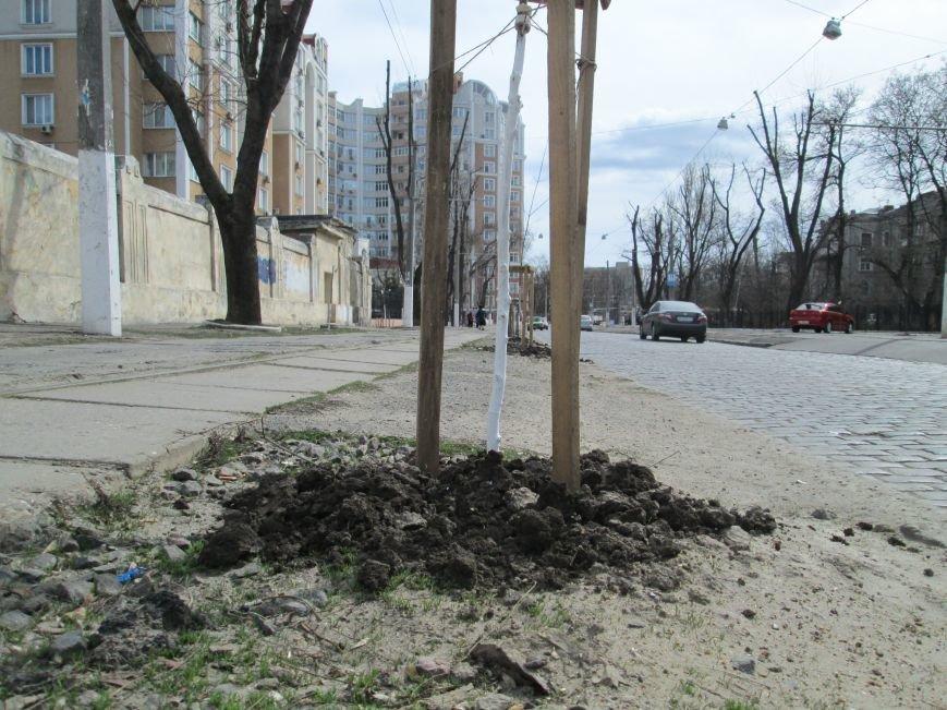 6b14b6afcedf8108f88baeeca9333c50 Протест с лопатами. Одесситы против расширения Французского бульвара