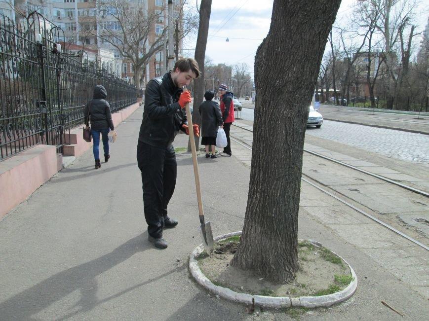 85a0aa1205d253dbd1053a18e7c14946 Протест с лопатами. Одесситы против расширения Французского бульвара