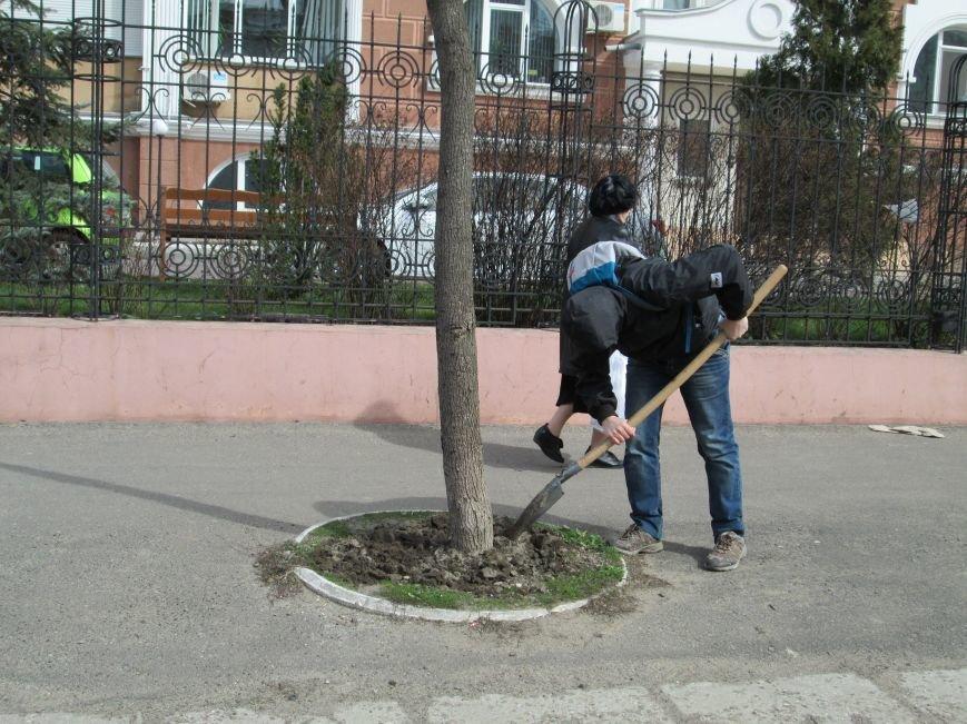 97ae8990e62a180c1b6da718170477de Протест с лопатами. Одесситы против расширения Французского бульвара