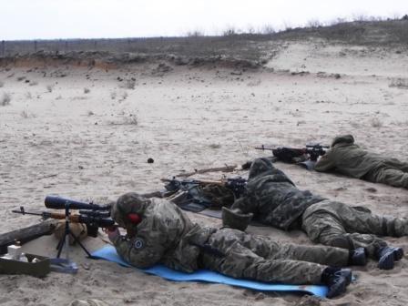 Сотрудники Национальной полиции провели учебно-тренировочные стрельбы (фото) (фото) - фото 1