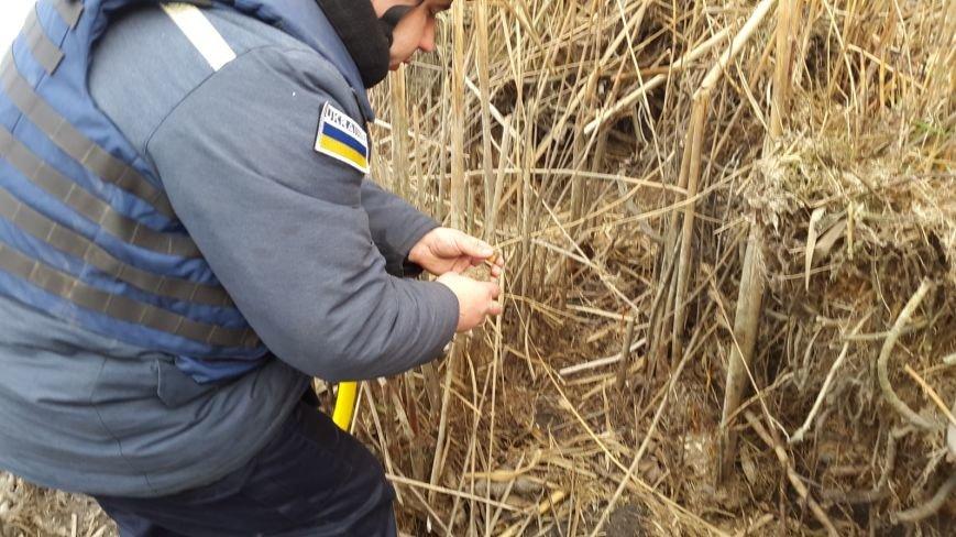 Ульяновський район: піротехніки ДСНС знешкодили гранату часів Другої світової війни. (фото) - фото 1