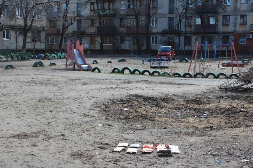 В Северодонецке найдены взрывоопасные предметы около мусорного бака (ФОТО) (фото) - фото 1