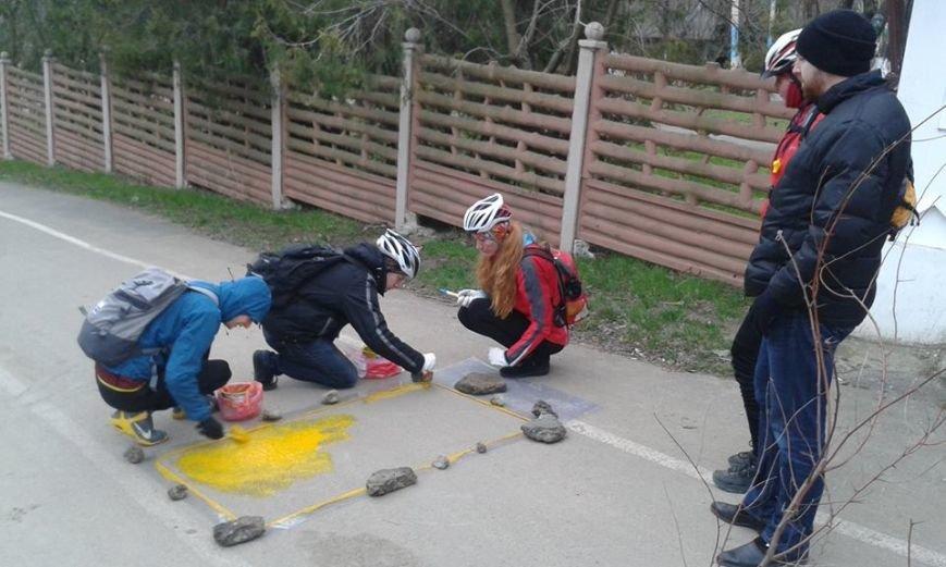 0b678c814ef35621d624eaa3bdd35dda Одесский борец с автохамами взялся за велосипеды