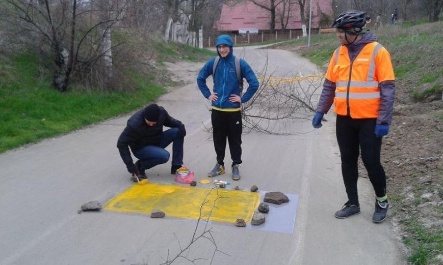 6d57c4cfdbff5c2a32e1c1f42051cd57 Одесский борец с автохамами взялся за велосипеды