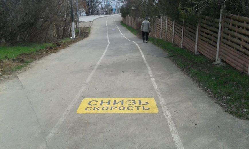 7943021de4a6d40a8c46207bbbe1095f Одесский борец с автохамами взялся за велосипеды