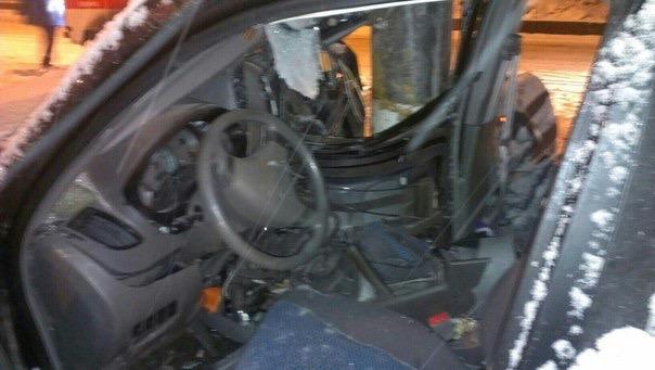 В Ульяновске водитель на Vortex врезался в столб. ФОТО, фото-3