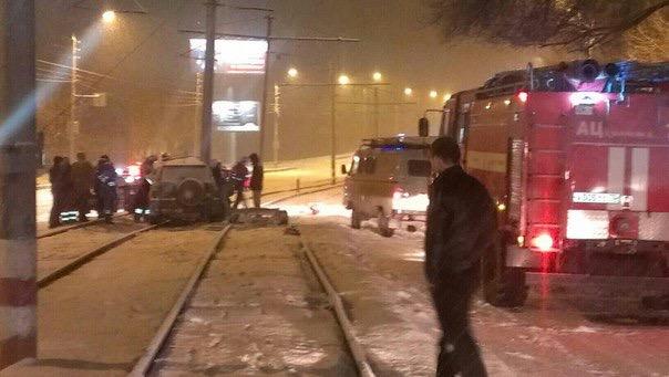 В Ульяновске водитель на Vortex врезался в столб. ФОТО, фото-2