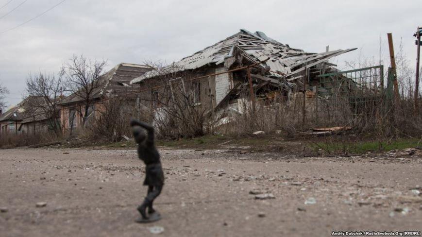Большое горе прифронтового района Луганщины (ФОТО), фото-1