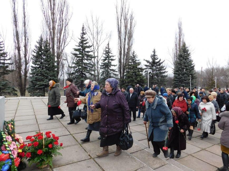 В Криворожском районе отметили 72-ю годовщину освобождения Криворожья от нацистов (ФОТО) (фото) - фото 1