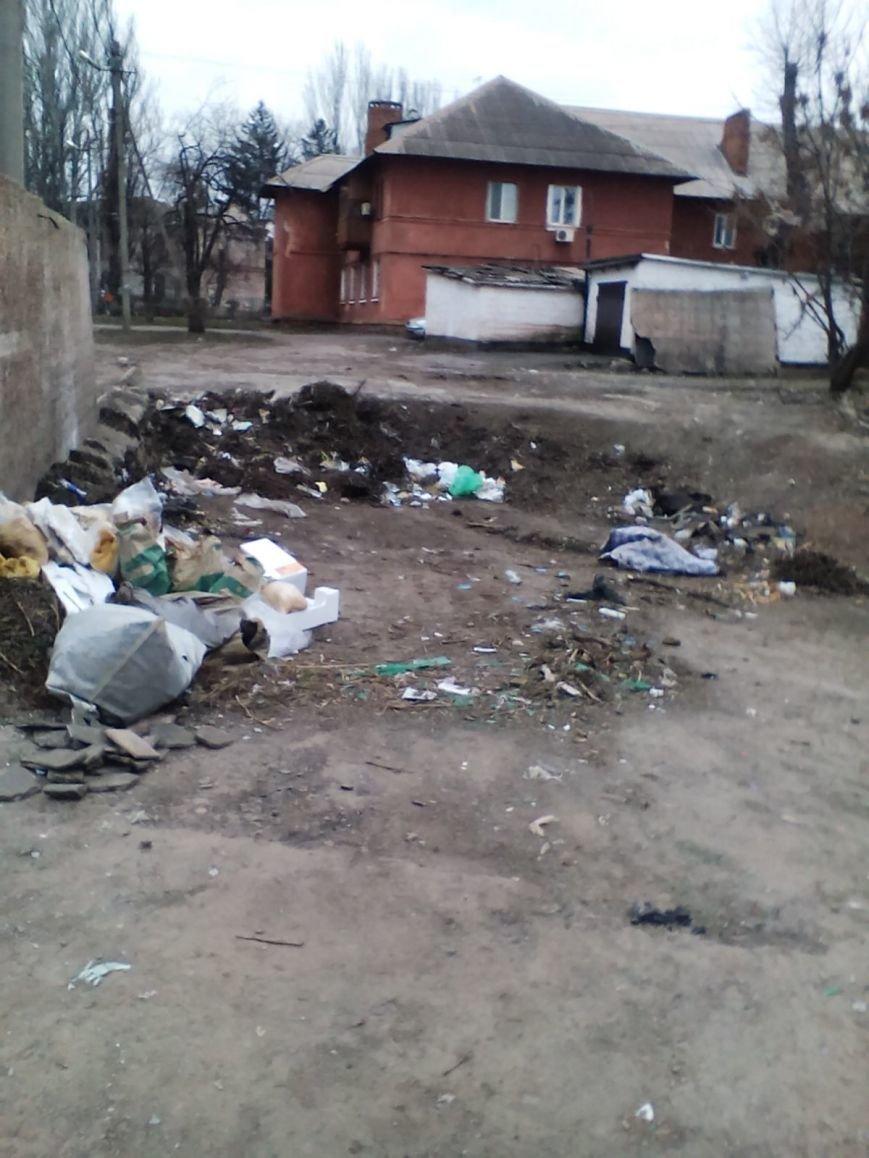 Если мусорник не уберут, дети будут скоро на крысах кататься, - криворожане обеспокоены огромной свалкой возле детского сада (ФОТО), фото-8