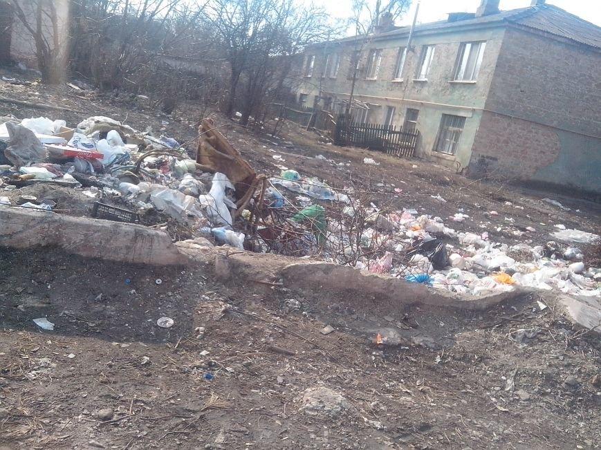 Если мусорник не уберут, дети будут скоро на крысах кататься, - криворожане обеспокоены огромной свалкой возле детского сада (ФОТО), фото-6