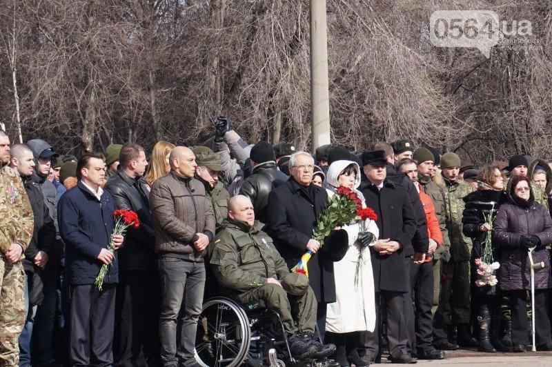 Военный капеллан на открытии монумента памяти погибших в АТО бойцов призвал криворожан делать все, чтобы не было стыдно перед Героями (ФОТО), фото-10