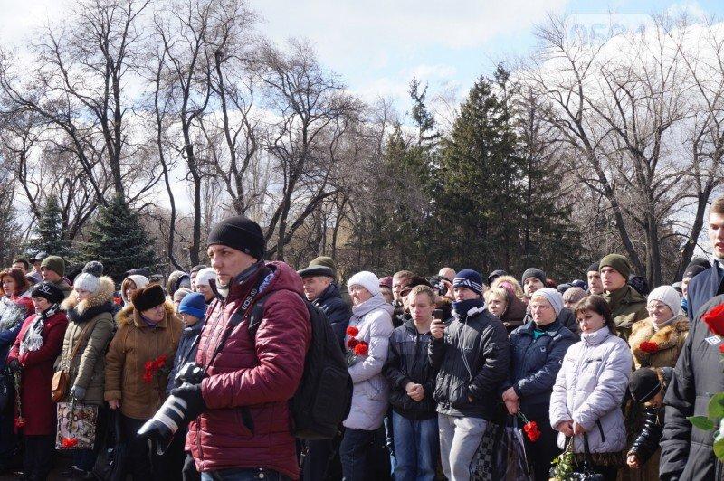 Военный капеллан на открытии монумента памяти погибших в АТО бойцов призвал криворожан делать все, чтобы не было стыдно перед Героями (ФОТО), фото-6
