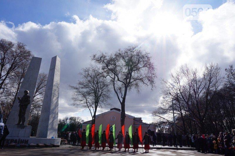 Военный капеллан на открытии монумента памяти погибших в АТО бойцов призвал криворожан делать все, чтобы не было стыдно перед Героями (ФОТО), фото-1