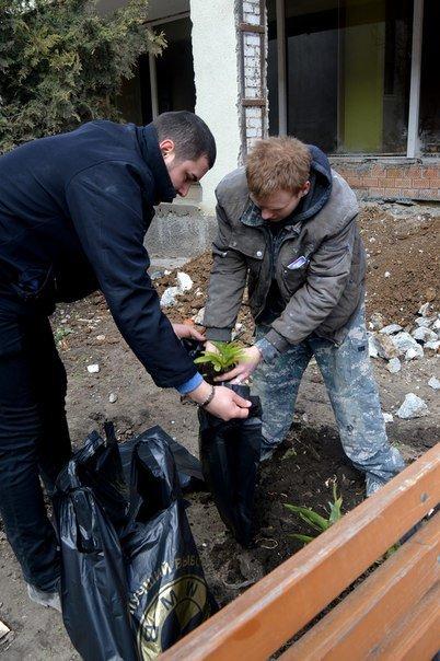 Эстафета добра: как преображают Черноморск обычные жители (фото) - фото 1