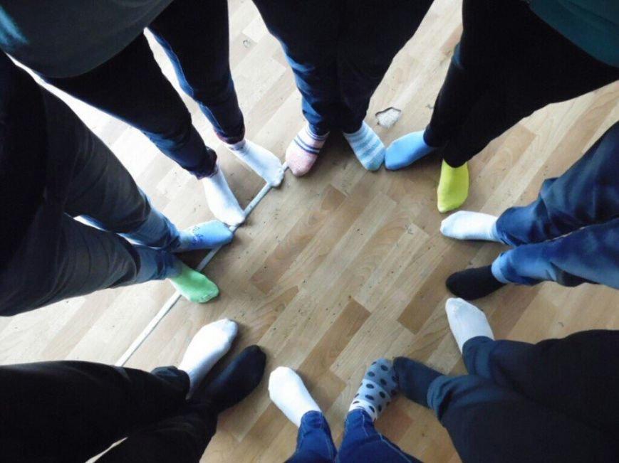 Криворожские школьники приняли участие в флешмобе