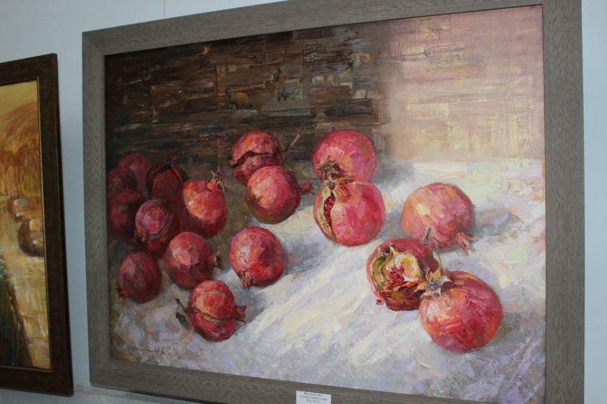 В Ялте открылась выставка картин преподавателей и студентов Гуманитарно-педагогической академии, фото-3