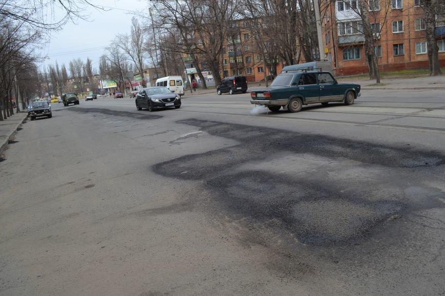 Для ямочного ремонта дорог в Кривой Рог приехал автогудронатор и бригада дорожников из Днепропетровска (ФОТО), фото-6