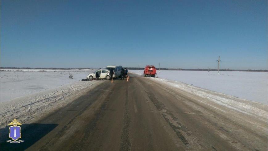 В Ульяновской области в очередной  аварии с маршруткой погибли 4 человека (фото) - фото 1