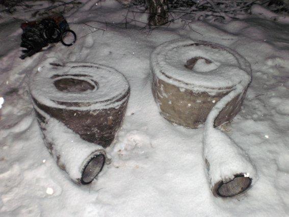 На Житомирщине задержали двух янтарекопателей (фото) - фото 1