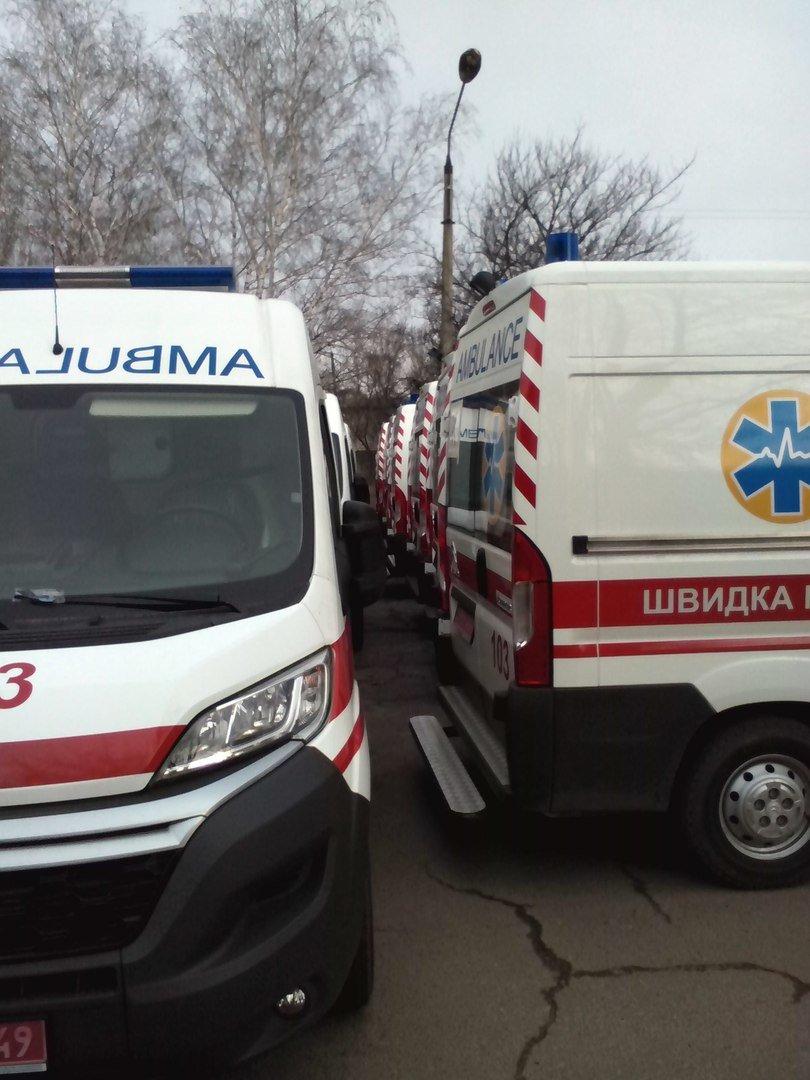 В Краматорск приехали новые машины