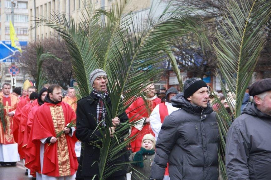 Римо-католики Житомира відзначили Вербну неділю (фото) - фото 1