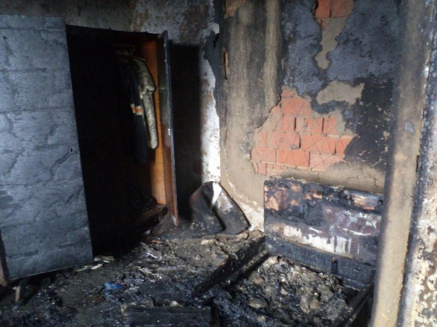 В Днепродзержинске горели дом и летняя кухня (фото) - фото 2