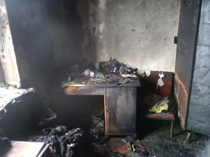 В Днепродзержинске горели дом и летняя кухня (фото) - фото 1