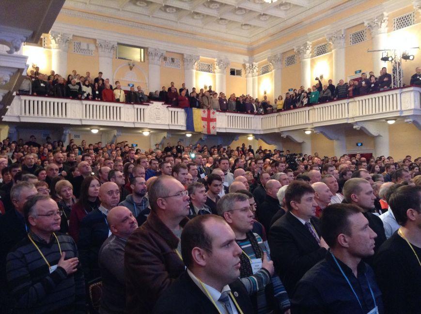В Запорожье с аншлагом стартовал форум Саакашвили, - ФОТО (фото) - фото 1