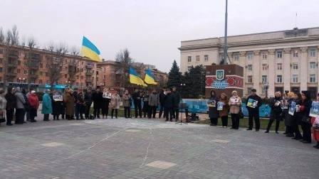 Херсонцы поддерживают Надежду Савченко (фото) (фото) - фото 2