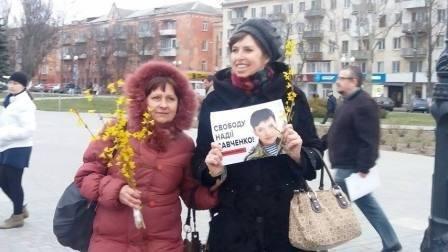 Херсонцы поддерживают Надежду Савченко (фото) (фото) - фото 1