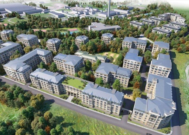 Территорию ремонтного завода на Кузьминке в Пушкине застроят жилыми кварталами (фото) - фото 1