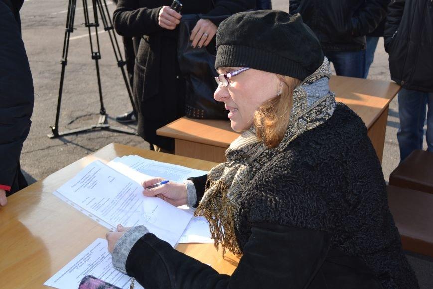 Районные избирательные комиссии Кривого Рога получают бюллетени (ФОТО), фото-11