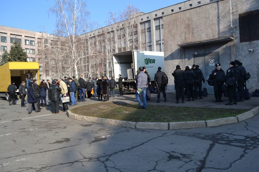 Районные избирательные комиссии Кривого Рога получают бюллетени (ФОТО), фото-17