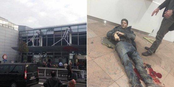 В Брюсселе взорвали аэропорт (фото) - фото 2