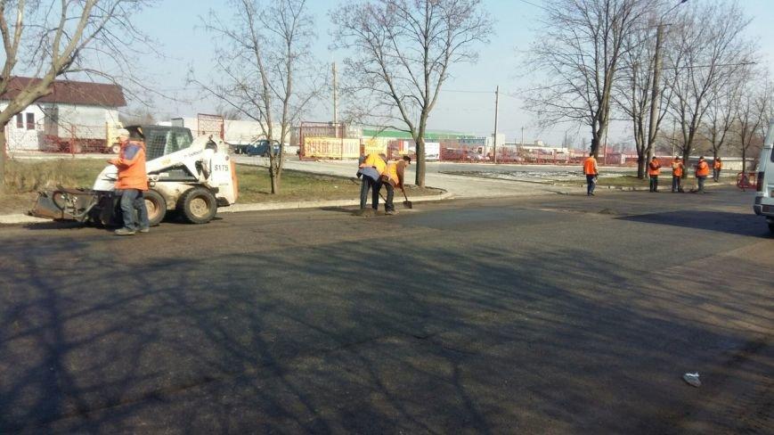 Дорожники готовят днепропетровские улицы к ямочному ремонту (ФОТО) (фото) - фото 8