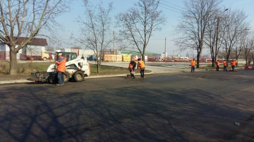 Дорожники готовят днепропетровские улицы к ямочному ремонту (ФОТО) (фото) - фото 9