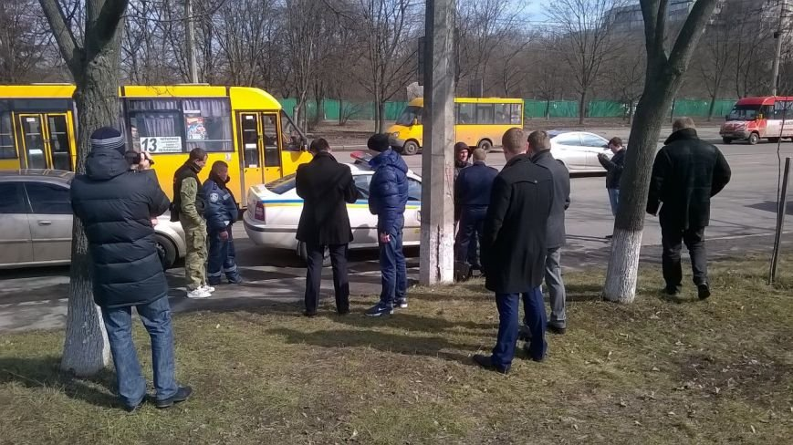 В Сумах сотрудники СБУ и прокуратуры задержали машину ДПС (ФОТО) (фото) - фото 1