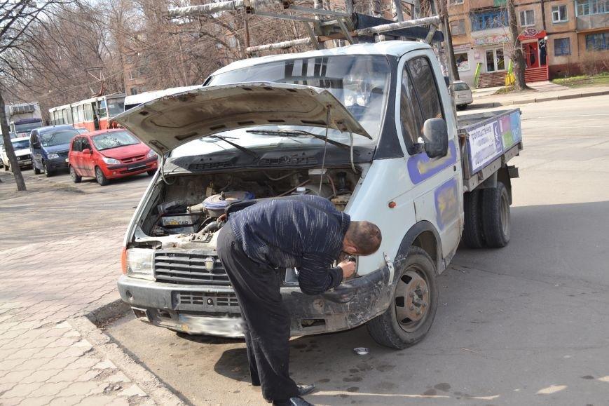 В Кривом Роге из-за ДТП на улице Косиора было остановлено движение трамваев (ФОТО), фото-4