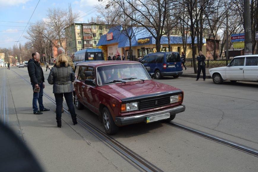 В Кривом Роге из-за ДТП на улице Косиора было остановлено движение трамваев (ФОТО), фото-6