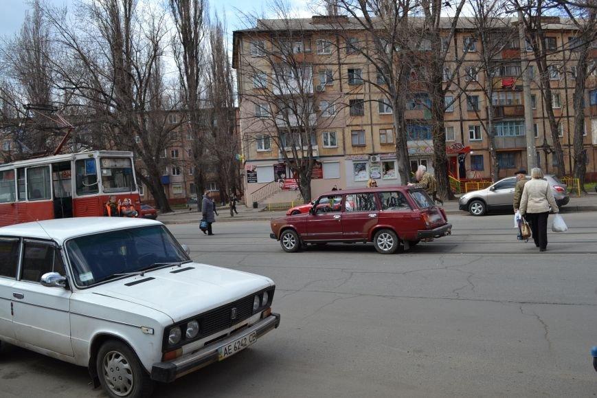 В Кривом Роге из-за ДТП на улице Косиора было остановлено движение трамваев (ФОТО), фото-3