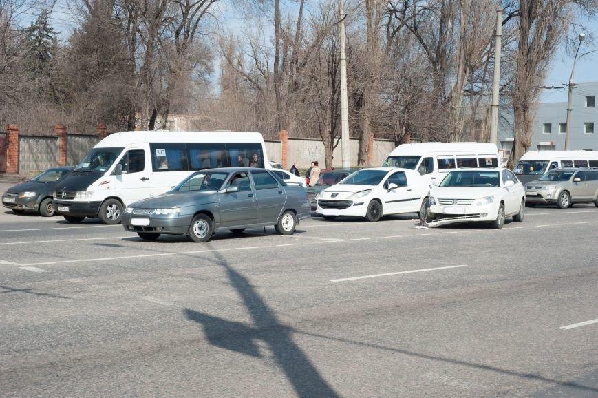 "В Кривом Роге ""Toyota Avalon"" догнала три стоявших на светофоре автомобиля (ФОТО), фото-10"