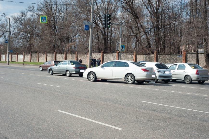 "В Кривом Роге ""Toyota Avalon"" догнала три стоявших на светофоре автомобиля (ФОТО), фото-11"