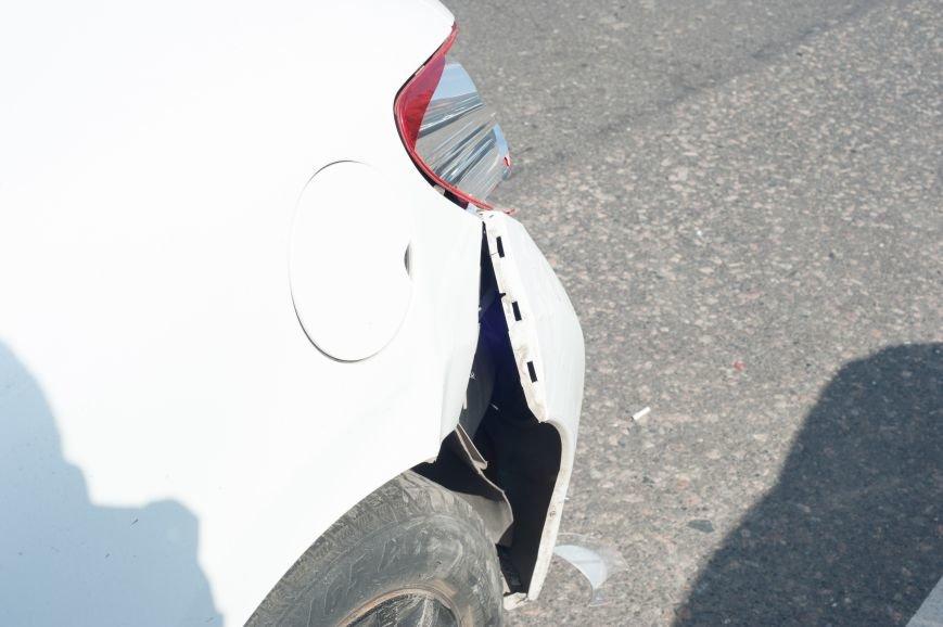 "В Кривом Роге ""Toyota Avalon"" догнала три стоявших на светофоре автомобиля (ФОТО), фото-5"