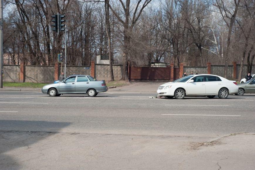 "В Кривом Роге ""Toyota Avalon"" догнала три стоявших на светофоре автомобиля (ФОТО), фото-16"
