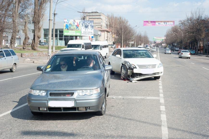 "В Кривом Роге ""Toyota Avalon"" догнала три стоявших на светофоре автомобиля (ФОТО), фото-9"