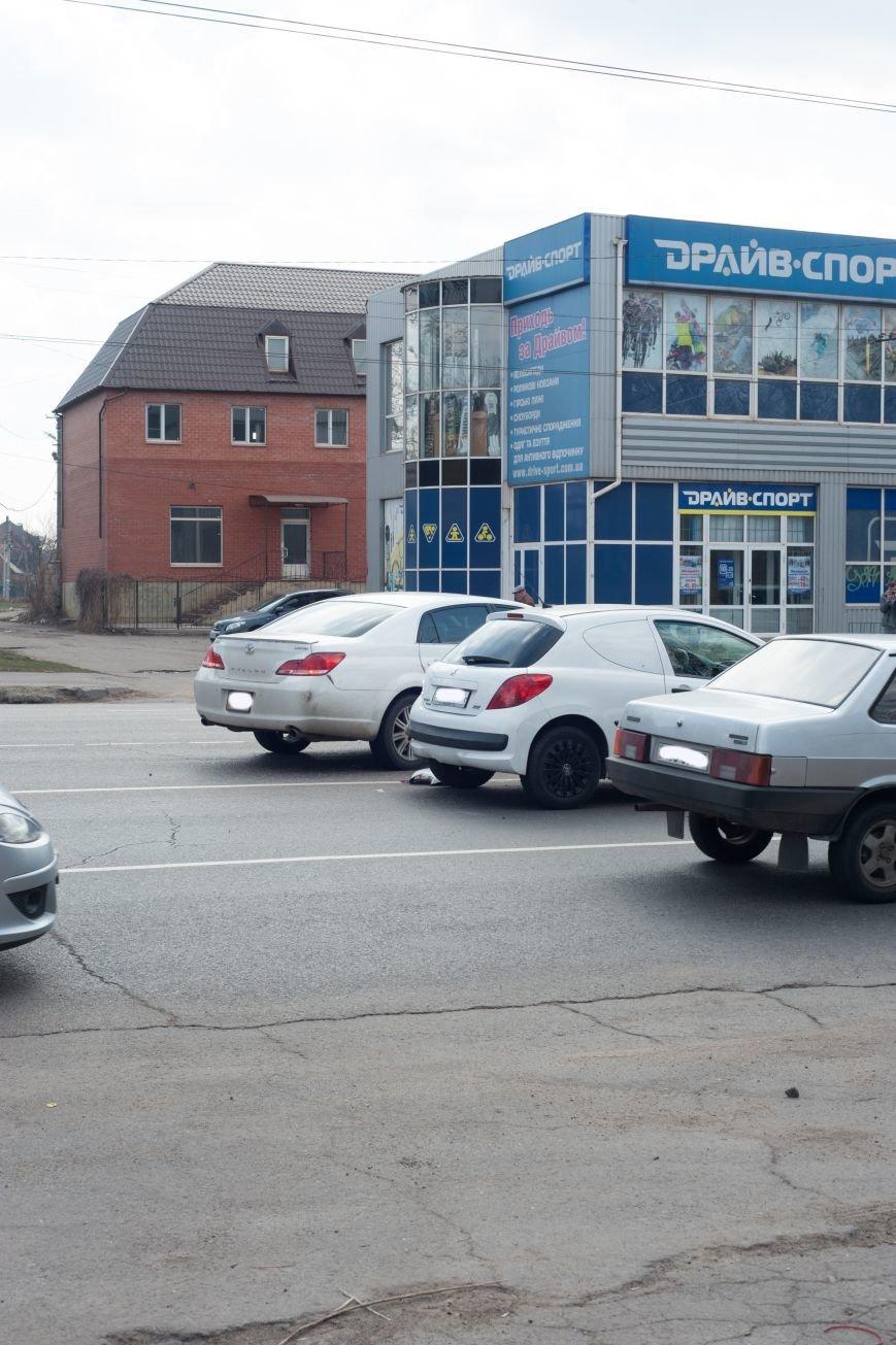"В Кривом Роге ""Toyota Avalon"" догнала три стоявших на светофоре автомобиля (ФОТО), фото-19"